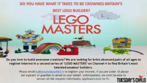 LEGO MASTERS FLYER